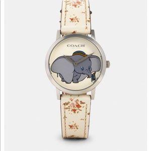 NWT Disney X Coach Dumbo Watch